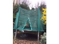 10 ft Outdoor Trampoline & Enclosure