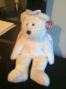 Halo the Angel Bear Ty Beanie Buddy stuffed animal