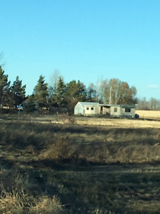 Acreage  mobile home for rent on 1  acre