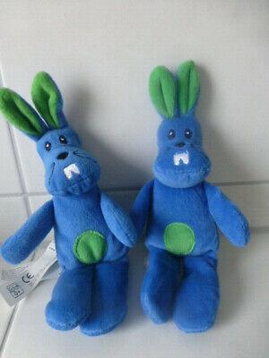 2 Kaninchen von IKEA ca. 22cm groß 100% Polyester neuwertig unbenutzt