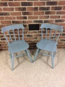 Refinished Wooden Chairs