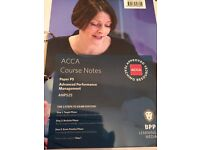 ACCA BPP P5 ALL NEW Study Text, Course Notes, P&R Kit and Passcards valid till August 2016