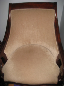 Single Wood Chair From Bombay Company