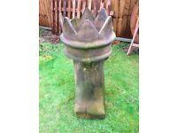 Old Crown Chimney Pot