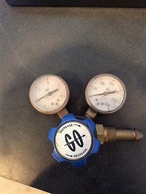 Single Stage Brass Gas Pressure Reducing Regulator Go Brand W 2 Fittings