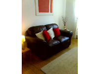 Bright ground floor flat short term, holidays, study, Christmas, New Year