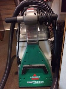 Bissell BigGreen carpet cleaner, in excellent condition