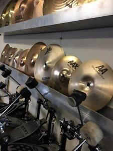 Ton's of Splash Cymbals for Sale!
