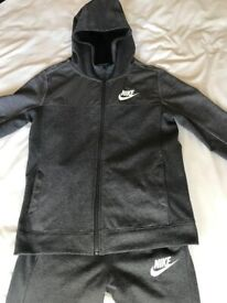 Nike Advance Hoodie and Joggers - Aged 12/13: As new, as only worn once. Cost £85, accept £25 ono
