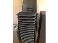 Padded Plastic Polypropylene Chairs