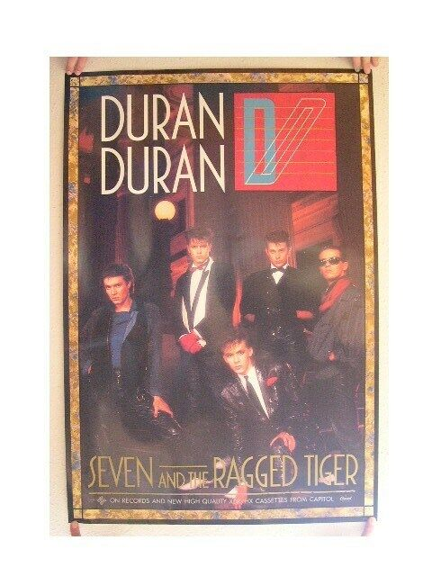 Duran Duran Poster Old Seven And The Ragged Tiger