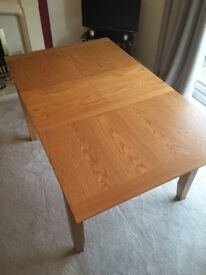 John Lewis Ellis Extending Dining Table Oak