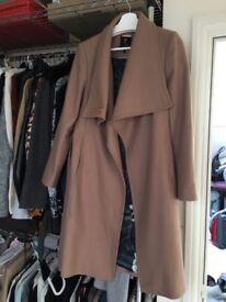 Ted Baker coat in camel, size 3 (UK 12) £150