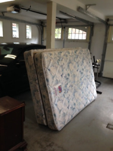 Free Boxspring and Mattress 54""