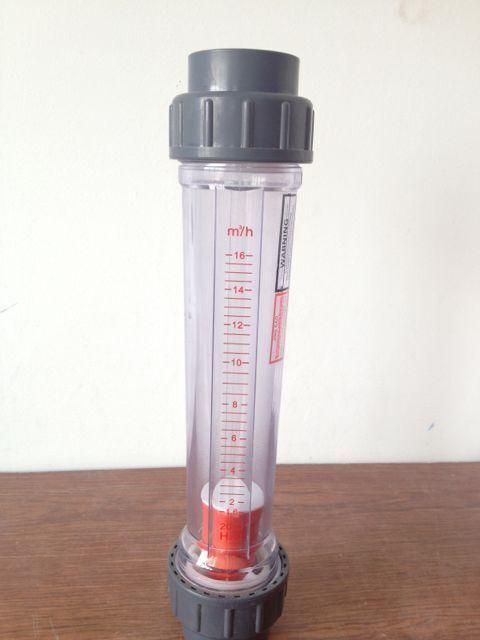 LZS  DN50 water plastic(AS) tube rotameter industry flow meter H2O/liquid