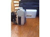 TWO! Sony handheld video cameras rarely used; carl zeiss lens.