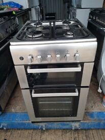 Stainless Steel 'Viscount' Gas Cooker - Excellent Condition / Free local delivery