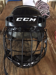 CCM Helmet with cage