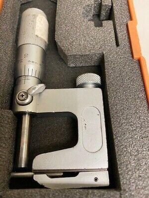 Mitutoyo 117-107 Pin Mic 0 - 1