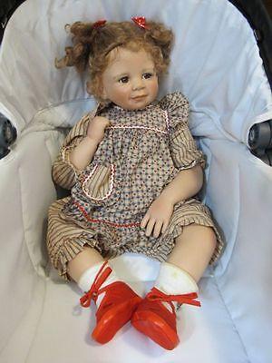 Tina Monika Levenig Brown Hair Eyes Doll Plaid Clothing Vinyl 199/400