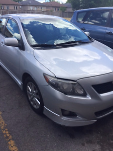 2009 Toyota Corolla Sedan, E-TESTED, clean title, never accident