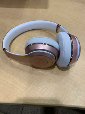 Beats by Dr.  Solo3 Wireless On the Ear Headphones - Rose Gold