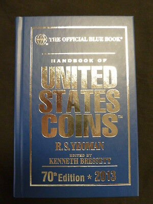 Whitman Blue Book US Coins Hard Cover 2013