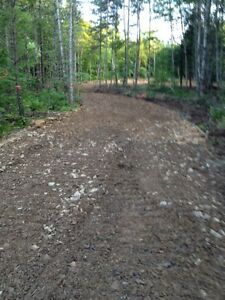 Lot for a camp or cottage 15 acres with culvert and levelled pad
