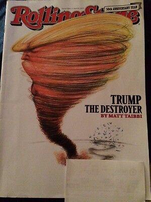 Donald Trump Rolling Stone Magazine April 6, 2017 #1284