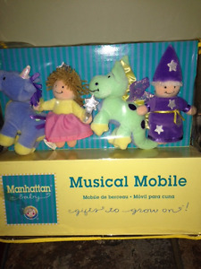 Musical Mobile & matching plush teether
