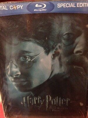 Harry Potter And The Half Blood Prince  Blu Ray  2009  2 Disc Set Lenticular New