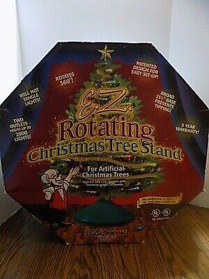 EZ Christmas Rotating Christmas Tree Stand For Artificial Trees