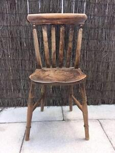 Rustic Wooden Dining Chair Canada Bay Canada Bay Area Preview