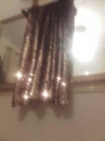 Gold sparkleing dress