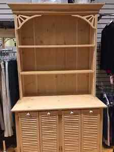 Handmade Pine display cabinet