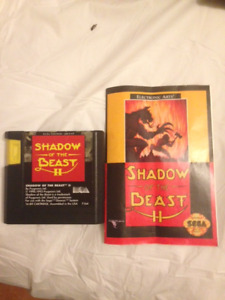 shadow of the beast 2 sega genesis