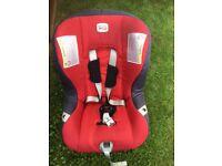 Britax group 1-2-3 car seat £30