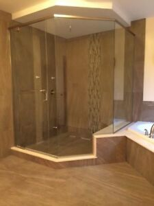Tub and Glass Shower Enclosures