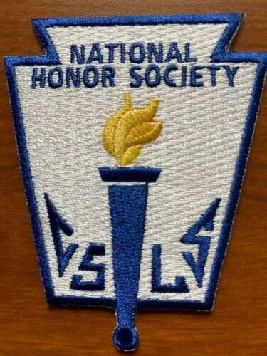 National Honor Society Embroidered Patch for High School NHS