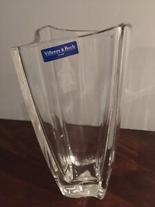 Like New Villeroy and Boch Crystal Vase