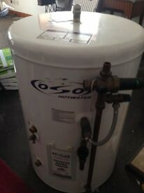 Oso Unvented Indirect Water Storage Heater Cylinder 125 litre.