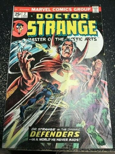 Doctor Strange #2 (08/1974) Defenders, Spider-Man & Avengers Bronze