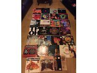 vinyl record lot - 32 records