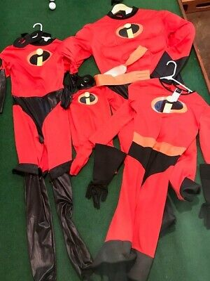 The Incredibles Family Costume (The Incredibles Halloween Costume Family Adult Baby- Disney Pixar)