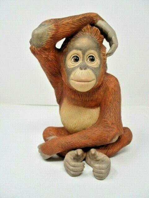 """LENOX Smithsonian 1994 """"Orangutan"""" Fine Porcelain"""
