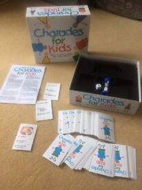 Charades for Kids - Age 4+, excellent condition, as new