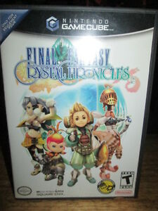 ***NINTENDO GAMECUBE FINAL FANTASY CRYSTAL CHRONICLES COMPLETE!!