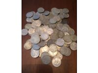sixpence coins