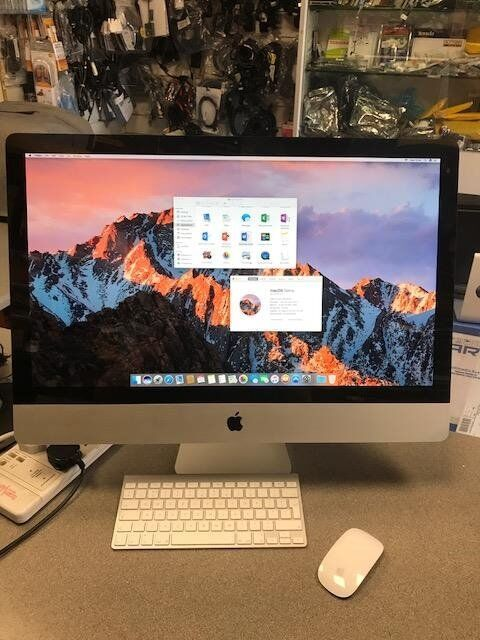 "Imac 27"" Intel i3 3.2 Ghz, 16GB Ram, 1TB HDD, Radeon HD 5670 Graphics ONLY499in Johnstone, RenfrewshireGumtree - NO OFFERS BUT YOU ARE WELCOME TO TRADE LAPTOP/DESKTOP/MACBOOK IN FOR SOME MONEY OFF Apple iMac 27"" Intel i3 CPU @ 3.2Ghz UPGRADED 1TB HDD UPGREDED 16GB DDR 3 Ram AMD Radeon HD 5670 512mb Graphics It has a complete fresh install of Latest OSX Sierra..."