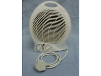 Electric Fan Heater 2000W with 2 heat settings and adjustable Thermostat